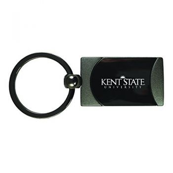 Kent State University-Two-Toned Gun Metal Key Tag-Gunmetal