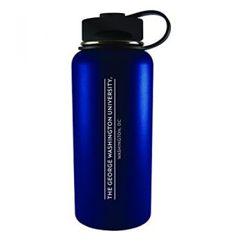 George Washington University -32 oz. Travel Tumbler-Blue