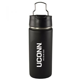 University of Connecticut-20 oz. Travel Tumbler-Black