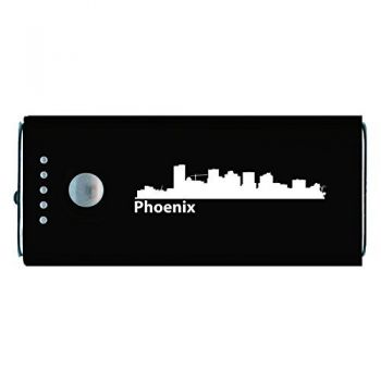 Quick Charge Portable Power Bank 5200 mAh - Phoenix City Skyline