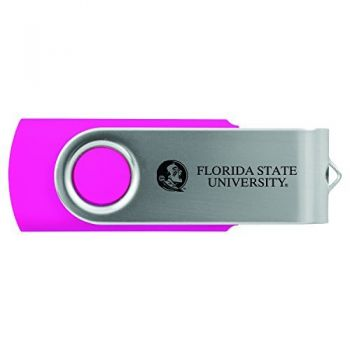 Florida State University -8GB 2.0 USB Flash Drive-Pink