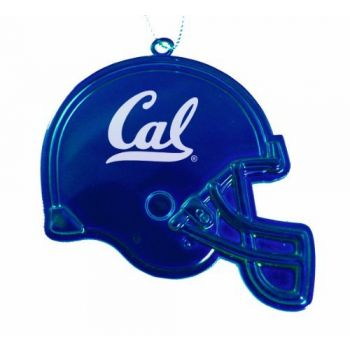 University of California, Berkeley - Christmas Holiday Football Helmet Ornament - Blue