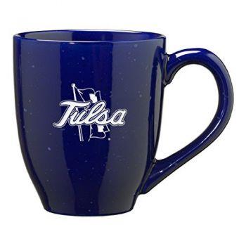 16 oz Ceramic Coffee Mug with Handle - Tulsa Golden Hurricanes
