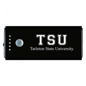 Tarleton State University -Portable Cell Phone 5200 mAh Power Bank Charger -Black