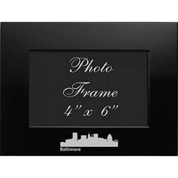 4 x 6  Metal Picture Frame - Baltimore City Skyline