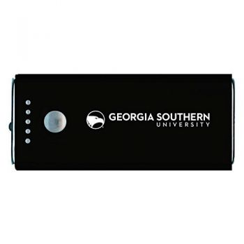 Georgia Southern University-Portable Cell Phone 5200 mAh Power Bank Charger -Black