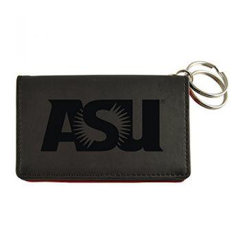Velour ID Holder-ASU Sun Devils-Black