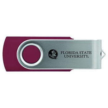 Florida State University -8GB 2.0 USB Flash Drive-Burgundy