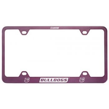 Bryant University -Metal License Plate Frame-Pink
