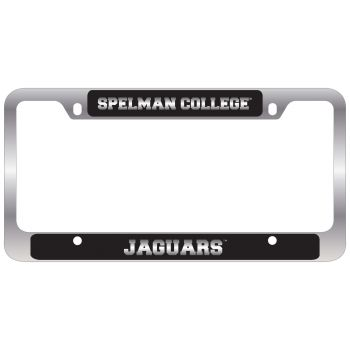 Spelman College -Metal License Plate Frame-Black