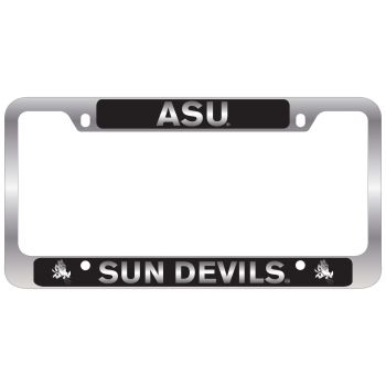 University of Tulsa-Metal License Plate Frame-Black