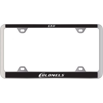 Eastern Kentucky University -Metal License Plate Frame-Black