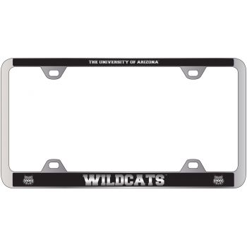 Arizona Wildcats -Metal License Plate Frame-Black