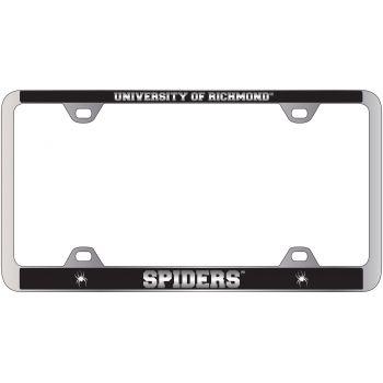 University of Richmond -Metal License Plate Frame-Black