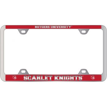 University of Tulsa-Metal License Plate Frame-Red