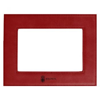 Brown University-Velour Picture Frame 4x6-Red