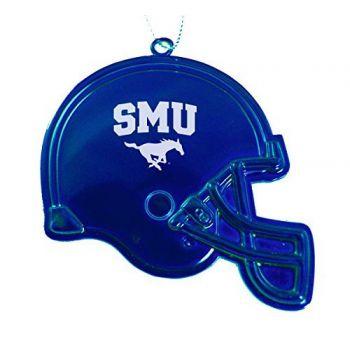 Southern Methodist University - Christmas Holiday Football Helmet Ornament - Blue