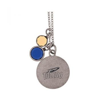 University of Toledo-Frankie Tyler by LXG Charmed Necklace