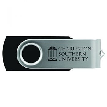 Charleston Southern University -8GB 2.0 USB Flash Drive-Black