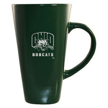 Ohio University -16 oz. Tall Ceramic Coffee Mug-Green