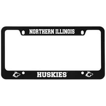 Northern Illinois University -Metal License Plate Frame-Black