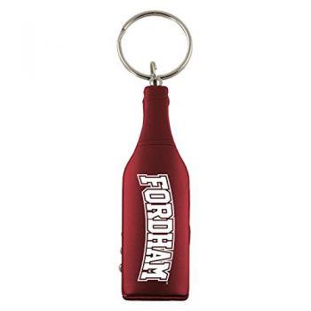 Fordham University-Wine Shaped Bottle Opener-Burgundy