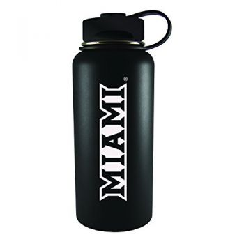 Miami University -32 oz. Travel Tumbler-Black