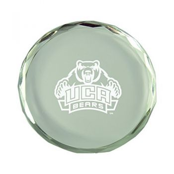 University of Central Arkansas-Crystal Paper Weight