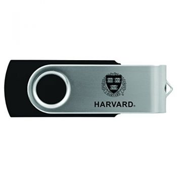 Harvard University -8GB 2.0 USB Flash Drive-Black