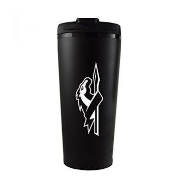 Longwood University-16 oz. Travel Mug Tumbler-Black