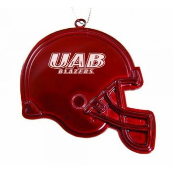 University of Alabama at Birmingham - Chirstmas Holiday Football Helmet Ornament - Red