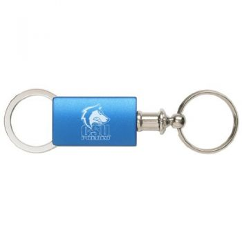 Colorado State University–Pueblo - Anodized Aluminum Valet Key Tag - Blue