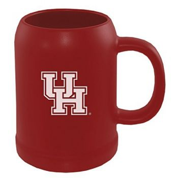 22 oz Ceramic Stein Coffee Mug - University of Houston