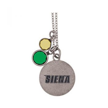 Siena College-Frankie Tyler by LXG Charmed Necklace