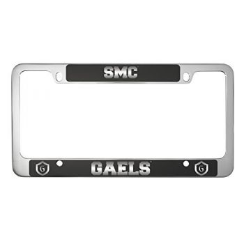 Saint Mary's College of California -Metal License Plate Frame-Black