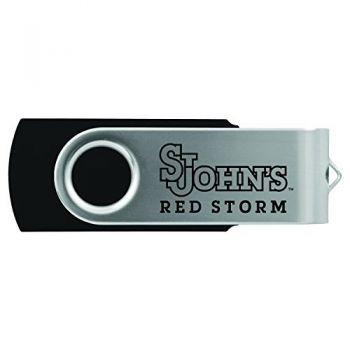 St. John's University -8GB 2.0 USB Flash Drive-Black