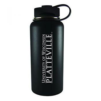 University of Wisconsin-Platteville-32 oz. Travel Tumbler-Black
