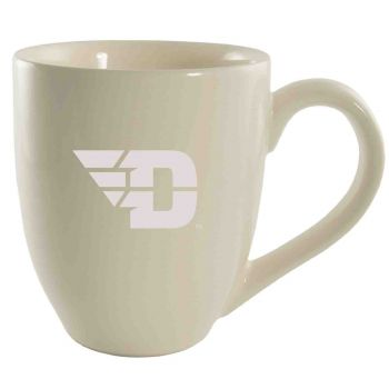 University of Dayton -16 oz. Bistro Solid Ceramic Mug-Cream