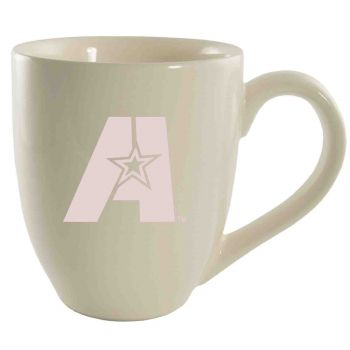 Louisiana State University of Alexandria-16 oz. Bistro Solid Ceramic Mug-Cream