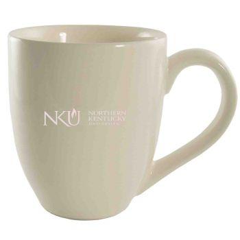 Northern Kentucky University -16 oz. Bistro Solid Ceramic Mug-Cream