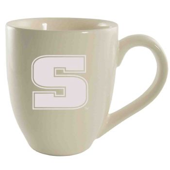 Slippery Rock University -16 oz. Bistro Solid Ceramic Mug-Cream