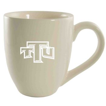 Tennessee Technological University -16 oz. Bistro Solid Ceramic Mug-Cream