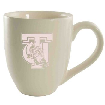 Tuskegee University -16 oz. Bistro Solid Ceramic Mug-Cream