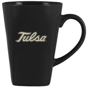 14 oz Square Ceramic Coffee Mug - Tulsa Golden Hurricanes