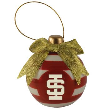 Idaho State University -Christmas Bulb Ornament