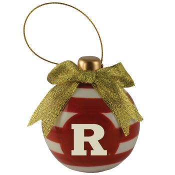Rutgers University -Christmas Bulb Ornament