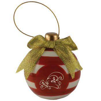 Tulane University -Christmas Bulb Ornament