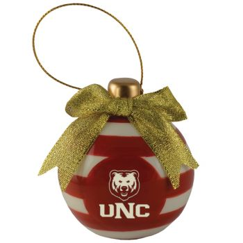 University of Northern Colorado -Christmas Bulb Ornament