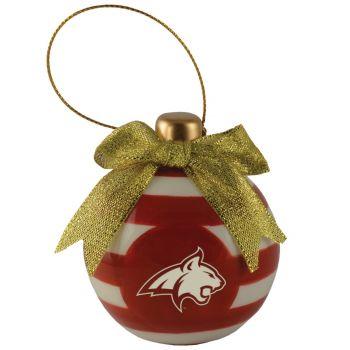 Montana State University -Christmas Bulb Ornament