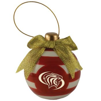 University of The Pacific -Christmas Bulb Ornament